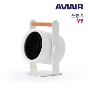 에비에어 PTC 히터 컴팩트 온풍기 V9 900w 저전력 급속난방