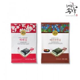 [해찬송학김] 재래김+데리야끼김(각 5봉씩/총10봉)