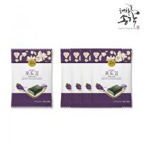 [해찬송학김] 포도김 25g x 15봉(봉당 5매)
