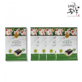 [해찬송학김] 와사비김 25g x 15봉 (봉당 5매)