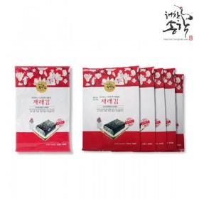 [해찬송학김] 재래김 25g x 15봉(봉당 5매)