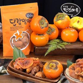 [홈쇼핑방송]우포늪 단감마을 단감말랭이 11봉 세트(1봉당 100g)