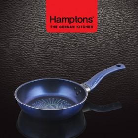 [Hamptons]독일햄튼 블루 인덕션 단조 후라이팬 20cm(HTB-20F)