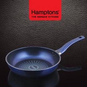 [Hamptons]독일햄튼 블루 인덕션 단조 후라이팬 26cm (HTB-26F)