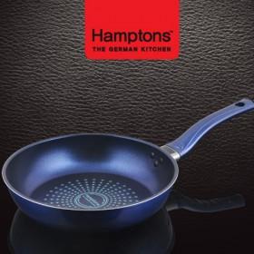 [Hamptons]독일햄튼 블루 인덕션 단조 후라이팬 28cm (HTB-28F)