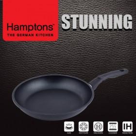 [Hamptons]독일햄튼 스터닝 다이캐스팅 인덕션 블랙 후라이팬24CM(HTSF-24F)