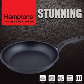 [Hamptons]독일햄튼 스터닝 다이캐스팅 인덕션 블랙 후라이팬28CM(HTSF-28F)