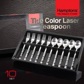 [Hamptons]독일햄튼 타이드 컬러 레이져 티스픈세트10P(HTTC-T10P)