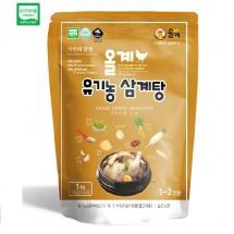 유기농 삼계탕 1kg(레토르트)