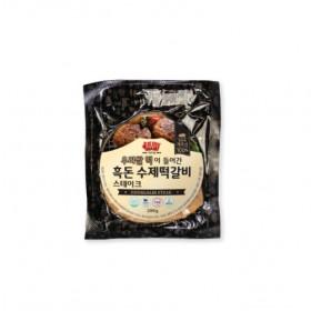 제주흑돈 수제떡갈비, 수제떡갈비스테이크 (택일)