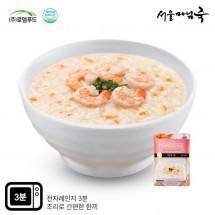 [DO113][서울마님죽]엄마의맛! 든든한 아침식사 새우죽500g*3봉
