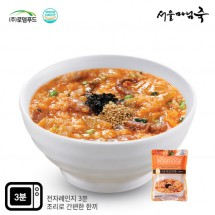 [DO803][서울마님죽]엄마의맛! 든든한 아침식사 낙지김치죽500g*3봉