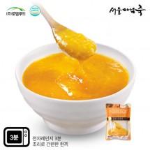 [DO103][서울마님죽]엄마의맛! 든든한 아침식사 호박죽500g*3봉