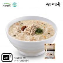 [DO503][서울마님죽]엄마의맛! 든든한 아침식사 영양닭죽500g*3봉