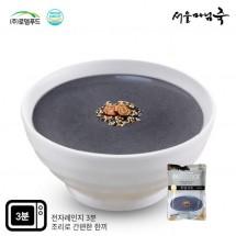 [DO143][서울마님죽]엄마의맛! 든든한 아침식사 흑임자죽500g*3봉
