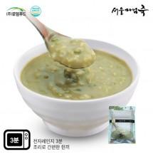 [DO133][서울마님죽]엄마의맛! 든든한 아침식사 녹두죽500g*3봉