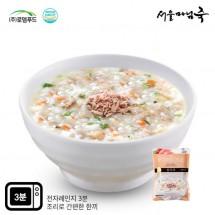 [DO101][서울마님죽]엄마의맛! 든든한 아침식사 참치죽500g*3봉