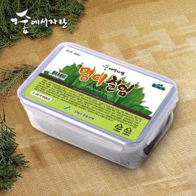 [숲에서자란] 명이절임(1KG) (명이잎420g+소스580g)
