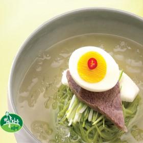 취나물 물냉면 30인분(냉면400g*15팩+육수350g*30봉)/태백산채영농조합