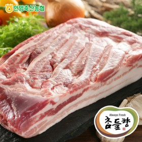 [축협]국산돼지 삼겹살 보쌈용 500g
