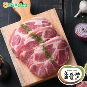 [축협]국산돼지 목살보쌈용 500g