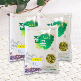 [여량농협]참조은 녹두1kg*3봉(총3kg)
