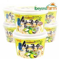 [경기6차산업인증] 즉석면쌀국수(멸치맛)