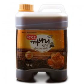 [옹진수협] 청정 백령도 특산 까나리액젓 10kg