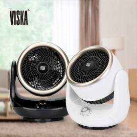 [VISKA] 써큘레이터 팬 히터 HNZ-E550SAH (블랙,화이트)