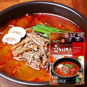 [푸드家]푸짐하고 맛있는 최부자 육개장 600g*5봉