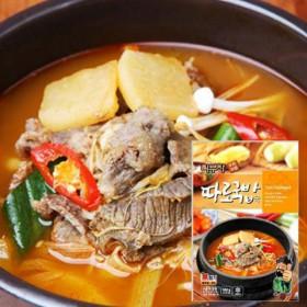 [푸드家]푸짐하고 맛있는 최부자 따로국밥 550g*5봉