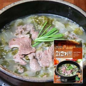 [푸드家]푸짐하고 맛있는 최부자 소고기국밥 550g*5봉