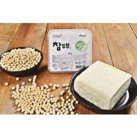 참두부 한모(500g) /국내산콩100%/직접농사/의성마늘/땅빛채운/도향