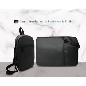 [Guy Laroche] 기라로쉬 심플 슬링백 +노트북 파우치&클러치