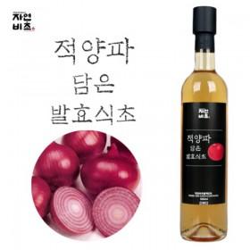 [자연비초] 적양파담은 발효식초/적양파식초