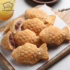 우리밀 크림치즈 팥 붕어빵 500g(50g x 10개입)