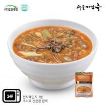 [DO018][서울마님죽]엄마의맛! 든든한 아침식사 육개장죽 500gx3봉