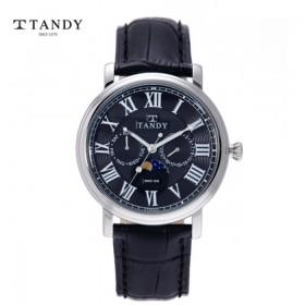 탠디 가죽 손목시계 T1510-BK