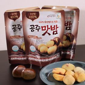 촉촉한 국내산 공주 맛밤 50g x30개