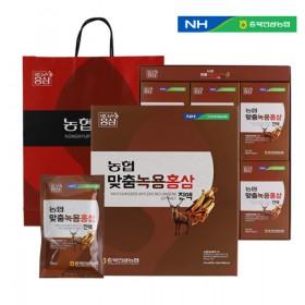 충북인삼농협 맞춤 녹용홍삼진액 70ml x 30포