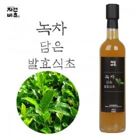 자연비초/녹차 담은 발효식초 500ml 무설탕 전통발효