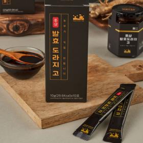 [홍도고] 홍삼 발효 도라지 고 스틱형 10개입